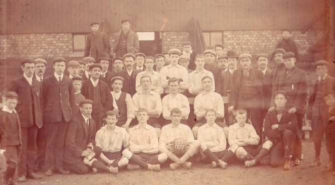 Sheet Glass Makers - the early Pilkington FC teams