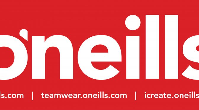 New Kit Partnership with O'Neills Sportswear